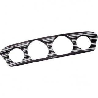 アレンネス インナーフェアリング ゲージトリム 10-Gauge ブラック 2014-20 FLHT/FLHX 2202-0253