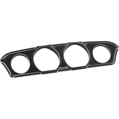 アレンネス インナーフェアリング ゲージトリム Beveled ブラック 2014-19 FLHT/FLHX 2202-0254