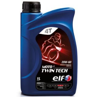 ELF エルフ MOTO 4 TWIN TECH 20W60 エンジンオイル 100%化学合成 194951
