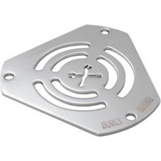 バーリー HEX エアクリーナー用 交換フェイスプレート Wrenches クローム 1010-2339