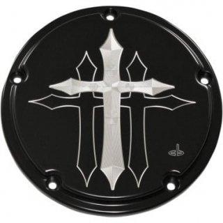 カールブローハード CROSS シリーズ ダービーカバー ブラック 2016-2019ツーリングモデル 1107-0576