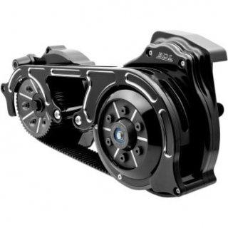 BDL 2インチオープンプライマリーキット 2ピースモータープレート 17-18ツーリングモデル 油圧クラッチ車 ブラック 1120-0397