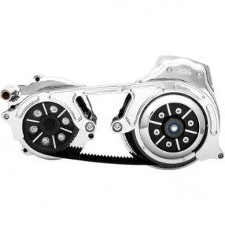 BDL 2インチオープンプライマリーキット 2ピースモータープレート 17-18ツーリングモデル 油圧クラッチ車 クローム 1120-0398