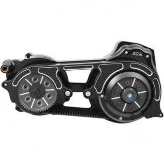 BDL 2インチオープンプライマリーキット 1ピースモータープレート 17-18ツーリングモデル 油圧クラッチ車 ブラック 1120-0399