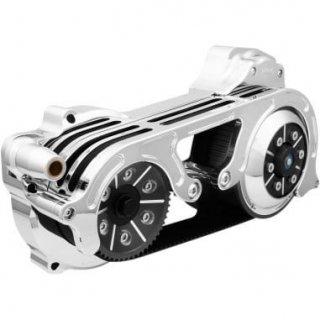 BDL 2インチオープンプライマリーキット 1ピースモータープレート 17-18ツーリングモデル 油圧クラッチ車 クローム 1120-0400