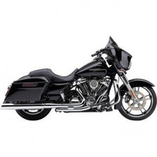 コブラ 909 UPPER CUT スリップオンマフラー Ravenブラック 95-16 ツーリング 1801-1215