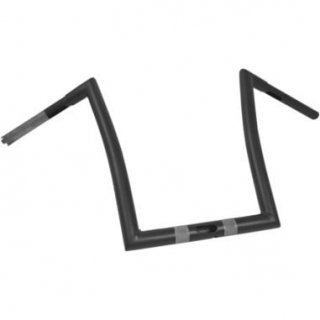 Todd'sサイクル 1-1/4インチ径 ストリップ ハンドル 12インチ フラットブラック 2015-20 FLTRX/Sロードグライド 0601-3987