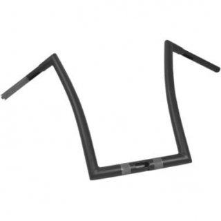 Todd'sサイクル 1-1/4インチ径 ストリップ ハンドル 17インチ フラットブラック 2015-20 FLTRX/Sロードグライド 0601-3993