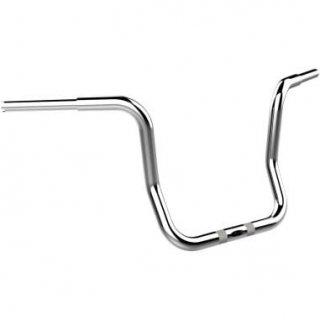 クロームワークス 1.25インチ径  バガーボバー 12インチライズエイプハンドル クローム 2015-20 FLTRX/ FLTRUロードグライド 0601-4065