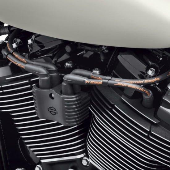 スクリーミンイーグル 10mm スパーク プラグ ワイヤー ブラック 2018-19 ソフテイル 31600111