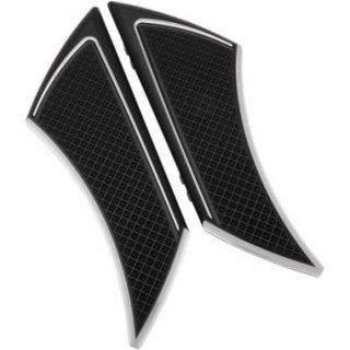 EDDIE TROTTAデザイン フロアボード ステルス ドライバー用 ブラックアノダイズ 84-19ツーリング 1621-0840