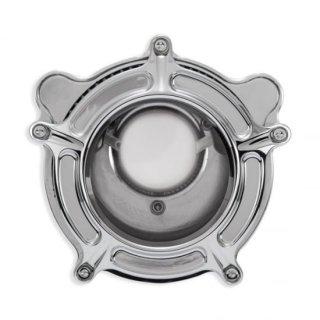 ローランドサンズ CLARIONクラリオン エアクリーナー クローム 08-17ツインカムの電子スロットルモデル 1010-2317