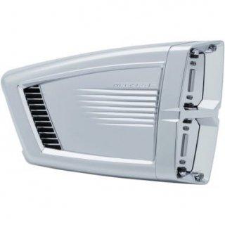 クリアキン HYPERCHARGER ES エアクリーナーキット クローム 08-17ツインカムの電子スロットルモデル 1010-2359