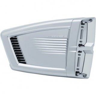 クリアキン HYPERCHARGER ES エアクリーナーキット クローム 99-17ビッグツイン CV/EFI ケーブルスロットル車 1010-2356