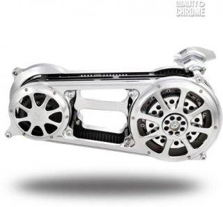 パフォーマンスマシン プライマリー オープンベルトドライブキット クローム 2008-2013ツーリングモデル 0179-1920-CH