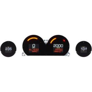 ダコタデジタル MLX-8414 ダイレクト プラグイン 4ゲージ 2014-19 ツーリングFLHT/FLHX/FLTR/FLHTK 2212-0744