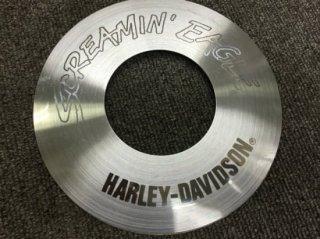【中古 】ハーレー純正 スクリーミンイーグル・エアクリーナーインサート EVO用 シルバーベース 29384-97
