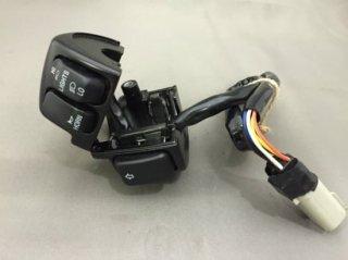 【中古 】ハーレー純正 スイッチボックス一式 左側 96以降ケーブル式モデル スイッチボタン3つ クラッチスイッチ付
