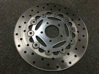 【中古 】ハーレー純正 ブレーキローター サンダースター フローティング ツインカムモデル フロント用 11.5インチ径