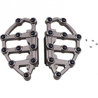 アレンネス MX フロアボード パッセンジャー 93-19ツーリング チタニウムアノダイズ 1621-0996