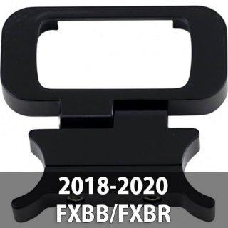 WILD 1 アジャスタブル ゲージリロケーション ブラケット グロスブラック 18-20 ソフテイル FXBB/FXBR 2212-0812