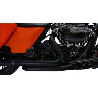 クロームワークス 2-INTO-2 クロスオーバー ヘッダーパイプ ブラック 17-20 ツーリング 1802-0399