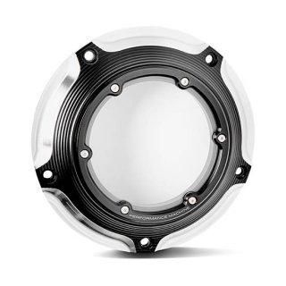 パフォーマンスマシン VISION ダービーカバー コントラストカット 2016-2020ツーリングモデル 0177-2083M-BM
