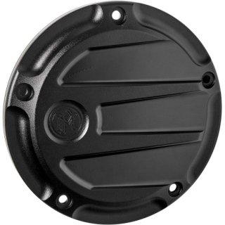 パフォーマンスマシン Scallop ダービーカバー ブラックOPS 2019-20ソフテイル 0177-2075M-SMB