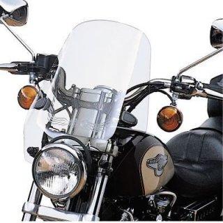 ハーレー純正 スポーツ ウインドシールドキット 17インチ ライトスモーク 96-10 XL883C/1200C 99-00 FXR 58024-96A