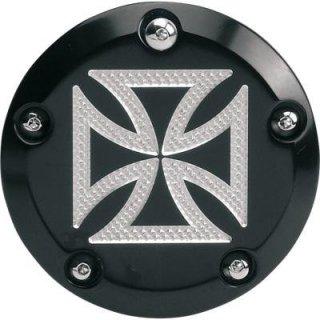 アキュトロニクス ポイントカバー Maltese Cross ブラック 1999-2017 ツインカム 0940-0483