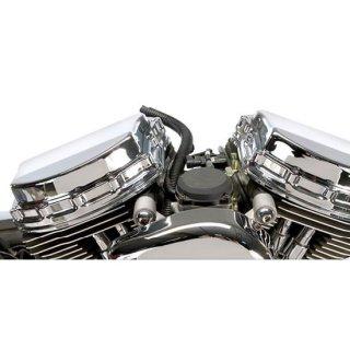 クローム 4ピース パンヘッドスタイル ロッカーカバー ツインカム用 696970
