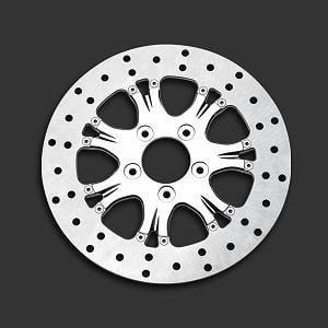 パフォーマンスマシン Heathen/Paramount リアブレーキディスク 右用 11.8インチ (300mm径) 0133-1802HEAS