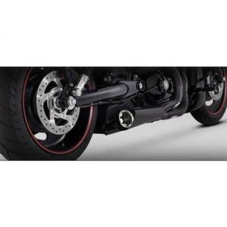 バンス&ハインズ コンペティション マフラー ブラック 02-17 V-Rod 1800-1495