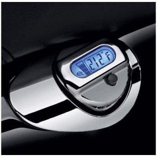 ハーレー純正 LCD油温計付オイルディップスティック クローム 04-19スポーツスター 62700009