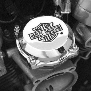 A ハーレー純正 クローム バー&シールドロゴ CVキャブレタートップカバー 86-06キャブレター車 27040-88T