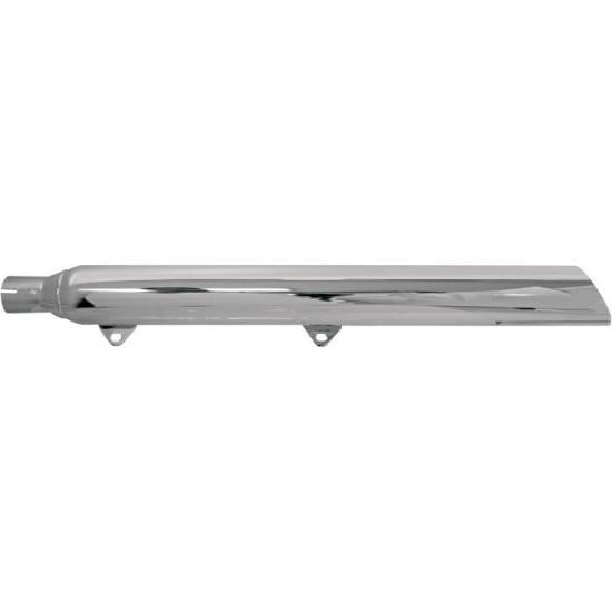 バッサニ トゥルーデュアル用3インチ スラント スリップオンマフラー99-11ソフテイル 1801-0453