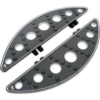 バティスティニ ビレット フットボード ドライバー SEMI-CIRCLE ロング ブラック 84-19ツーリング 1621-0105