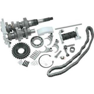 ベーカー ダイレクトドライブ 6速 トランスミッションギアセット 01-06ツーリング 1103-0006