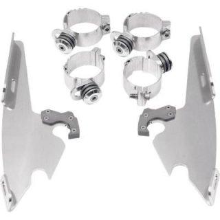 FATS/SLIM/バッドウイング用 トリガーロックマウントハードウェア ポリッシュ 06-17 FXD, FXCWC 2320-0029