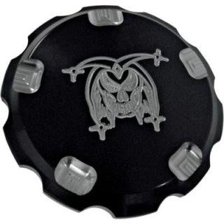ジョーカーマシン ガスキャップ Jokerロゴ ブラック 0703-0352