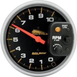オートメーター 5インチ タコメーター サテン 10000RPM シフトライト付 DS-244016