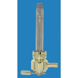 ピンゲル パワーハイフロー フューエルバルブ 22mm ROUND Brass 0705-0094