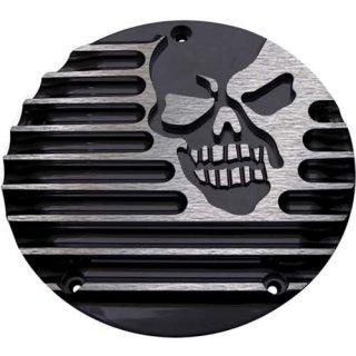 コビントン ダービーカバー MACHINE HEAD グロスブラック 99-17 ツインカム/2018ソフテイル 1107-0243