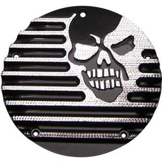 コビントン ダービーカバー MACHINE HEAD ブラックダイアモンド 99-17 ツインカム/2018ソフテイル 1107-0245