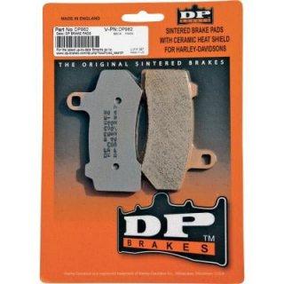DP ブレーキ HD純正キャリパー フロント用シンタードメタルブレーキパッド 08-16 ツーリング 06-16V-Rod 1721-0680