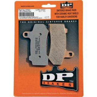 DP ブレーキ HD純正キャリパー フロント用 シンタードメタルブレーキパッド 08-16 ソフテイル/ダイナ 1721-0811