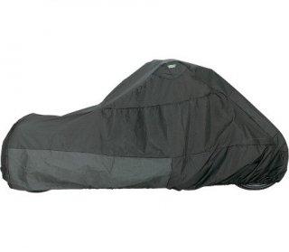 ドラッグ製 バイクカバー 屋外用 チョッパーサイズ(ハイネック、ロングフォーク、シーシーバなし) 1701-1001