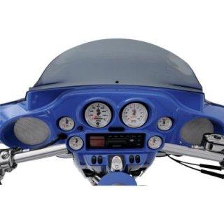 クロックワークス スピーカーグリル フロント 96-13 FLHTC, FLHX 4405-0097