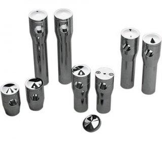 アキュトロニクス スプリンガー用 ライザー 8インチライズ クローム 1インチ径ハンドル用 DS-290153