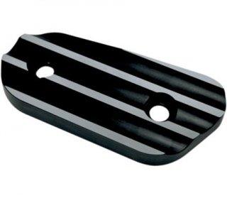 ジョーカーマシン インスペクションカバー Finned ブラックアノダイズ 2004-19 スポーツスター 1107-0260
